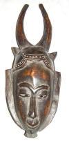 Masque africain Yaouré de Côte d'Ivoire