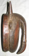 masque africain djimini de cote d'ivoire