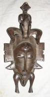 masque africain senoufo de cote d'ivoire galerie art et artisanat africain