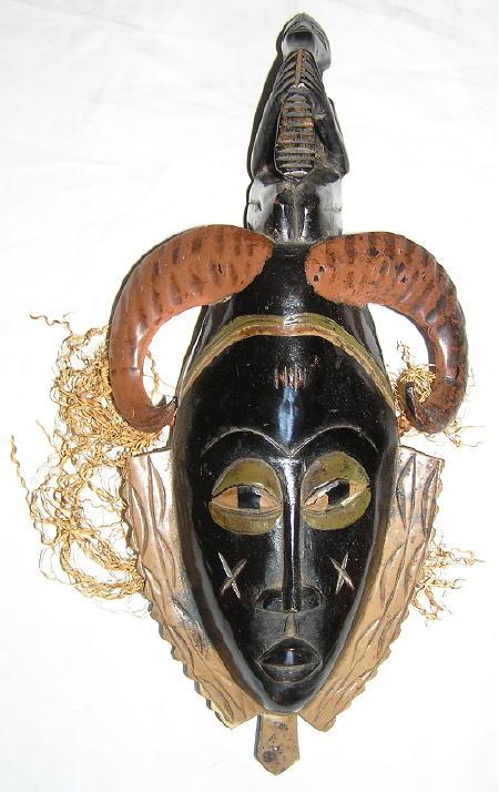 masque africain gouro