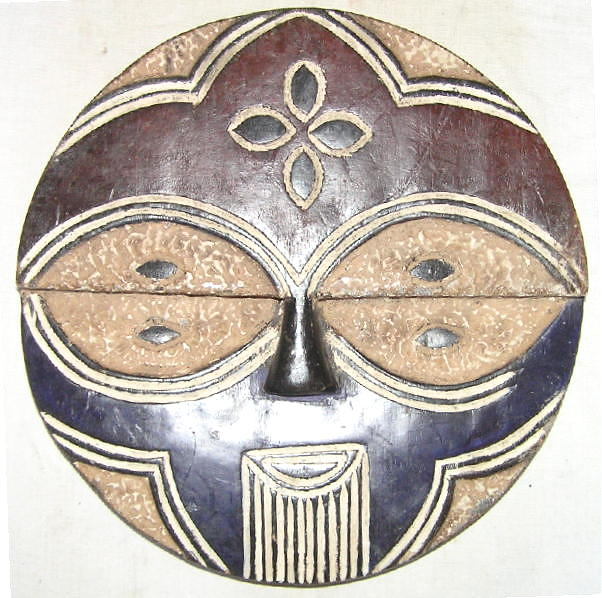masque africain teke